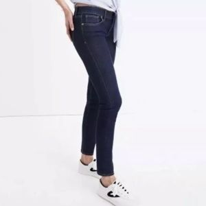 [Madewell] Ankle Skinny skinny jeans Mid Rise